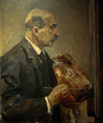 M.Liebermann, Self-Portrait / Paint./1915 by AKG  Images