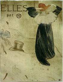 "Toulouse-Lautrec / Frontispiece for ""Elles"" by AKG  Images"