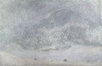 Monet / Mt Kolsaas in Snowstorm / 1895 by AKG  Images