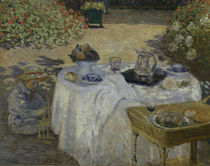 Monet, Le Déjeuner / 1872 / Ausschnitt von AKG  Images