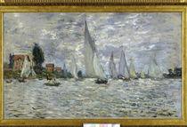 Monet / Barques-Regates à Argenteuil/1874 von AKG  Images