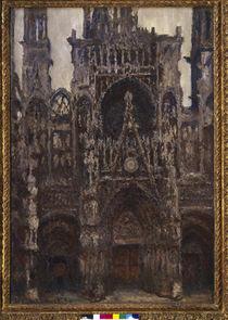 Monet / Kathedrale Rouen (Harmonie brune) von AKG  Images