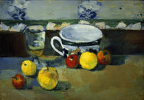 Cézanne / Cup, Glass & Fruit II /  c. 1877 by AKG  Images