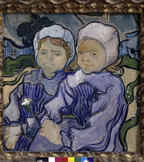 Van Gogh / Two children / 1890 by AKG  Images