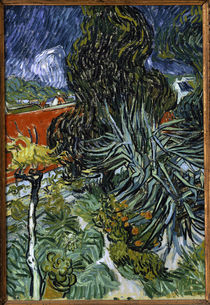 Van Gogh / Garten von Doktor Gachet/ 1890 von AKG  Images