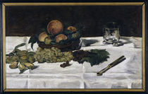 Manet / Still-life: fruit on a table/1864 by AKG  Images