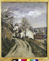 Cezanne / Doctor Gachet's house /  c. 1873 by AKG  Images