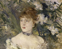 Morisot / Young lady in ballgown / 1879 by AKG  Images