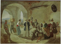 The Custom House / C. Spitzweg / Painting c.1832 by AKG  Images
