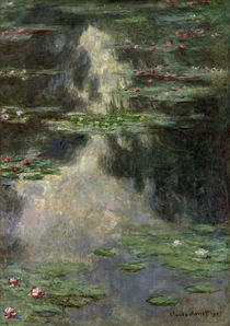 Claude Monet / Waterlilies / Painting by AKG  Images