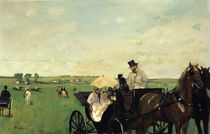 Degas / Carriage at a race / 1869 by AKG  Images