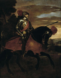 Equestrian Portrait of Charles V / Titian / Painting, 1548 by AKG  Images