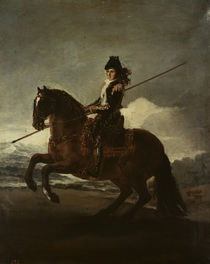 F. de Goya, Picador on Horseback / Paint. by AKG  Images