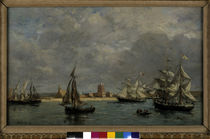 E.Boudin / Port of Camaret / 1872 by AKG  Images