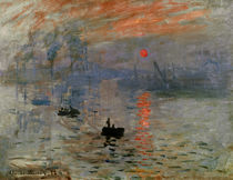 C.Monet, Impression, Sunrise / 1872 by AKG  Images