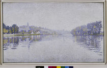P.Signac / Riverbanks / 1889 by AKG  Images