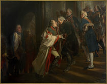 Frederick II and Joseph II / Menzel by AKG  Images