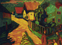 Kandinsky / Murnau: Street with Women by AKG  Images