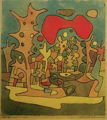 P.Klee, Red Cloud / 1928 by AKG  Images