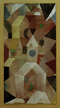 P.Klee, Chapel / 1917 by AKG  Images