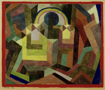 Paul Klee / With the Rainbow, 1917. by AKG  Images