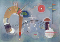 W.Kandinsky, Round And Pointed by AKG  Images