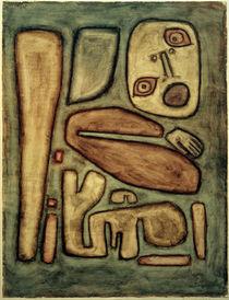 Paul Klee, Angstausbruch III, 1939 von AKG  Images