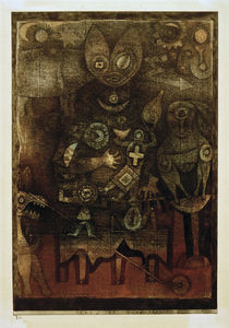 Paul Klee, Zaubertheater, 1923 von AKG  Images