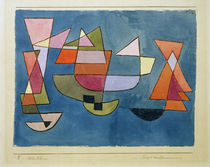 Paul Klee, Sailing Boats / 1927 by AKG  Images