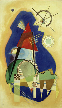 Discrete Blue / W. Kandinsky / Painting 1936 by AKG  Images