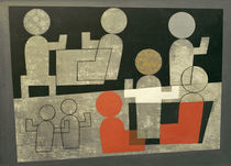 Sophie Taeuber-Arp / Cafe / Painting. by AKG  Images