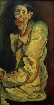Ch. Soutine, Grotesque – self-portrait / painting by AKG  Images
