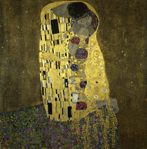 Klimt / The Kiss / 1908 by AKG  Images