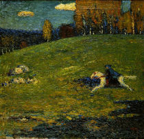 Kandinsky / The blue Rider / 1903 by AKG  Images