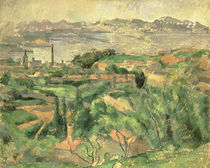 Cezanne / Bay of Marseille /  c. 1882 by AKG  Images