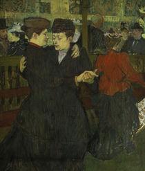 Toulouse-Lautrec, Tanz im Moulin-Rouge von AKG  Images