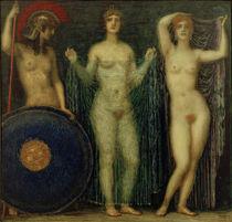 von Stuck / Athena, Hera und Aphrodite by AKG  Images