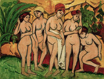 E.L.Kirchner / Women Bathing by AKG  Images