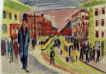 E.L.Kirchner / Street Scene by AKG  Images