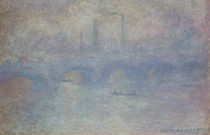 C.Monet / Waterloo Bridge im Nebel/1903 von AKG  Images