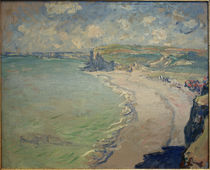 Monet / The beach of Pourville / 1882 by AKG  Images