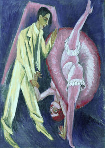 E.L.Kirchner / Dancing Couple / Ptg./1914 by AKG  Images