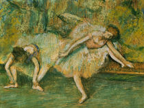 Degas / Dancers on a Bench /  c. 1900 by AKG  Images