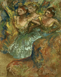 Degas / Group of dancers /  c. 1900 by AKG  Images