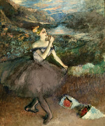 Degas / Dancers with bouquets /  c. 1890 by AKG  Images
