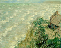 Monet / Flood in Pourville / 1882 by AKG  Images