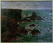 Monet / The lion rock / 1886 by AKG  Images
