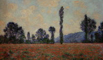 Claude Monet / Poppy field / 1890 by AKG  Images