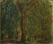 C.Monet, Die Trauerweide von AKG  Images