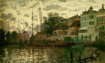Monet / The dam i. Zaandam i. t. evening/1871 by AKG  Images